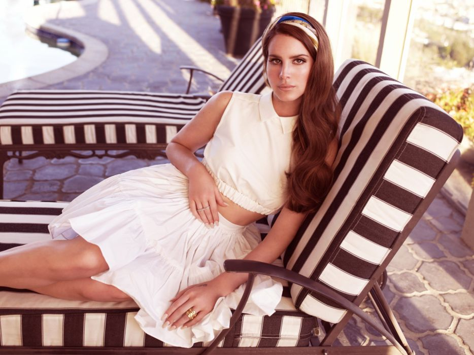 LANA DEL REY pop baroque trip indie alternative sexy babe wallpaper