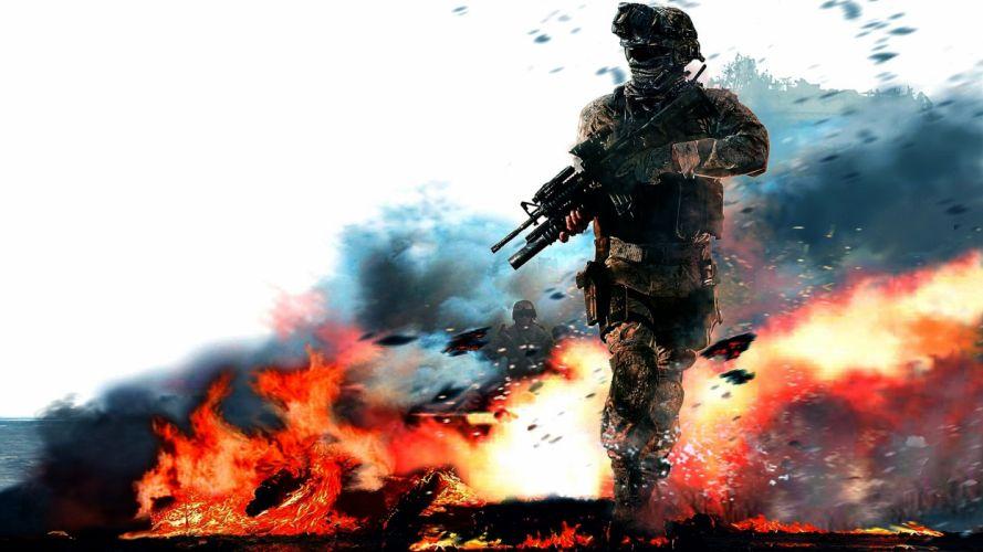 Modern Warfare 2 1 by BubiMandril wallpaper