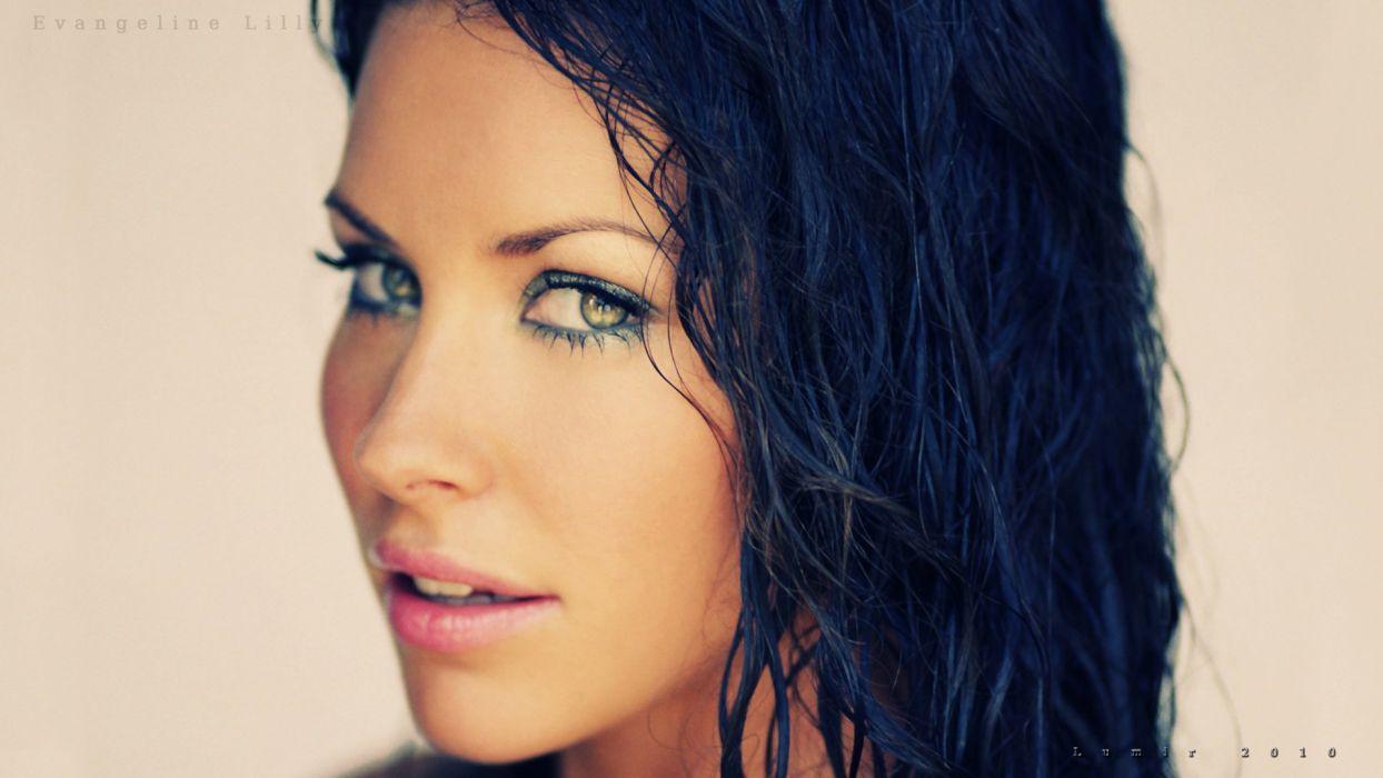 Evangeline Lilly HD by Lumir79 wallpaper
