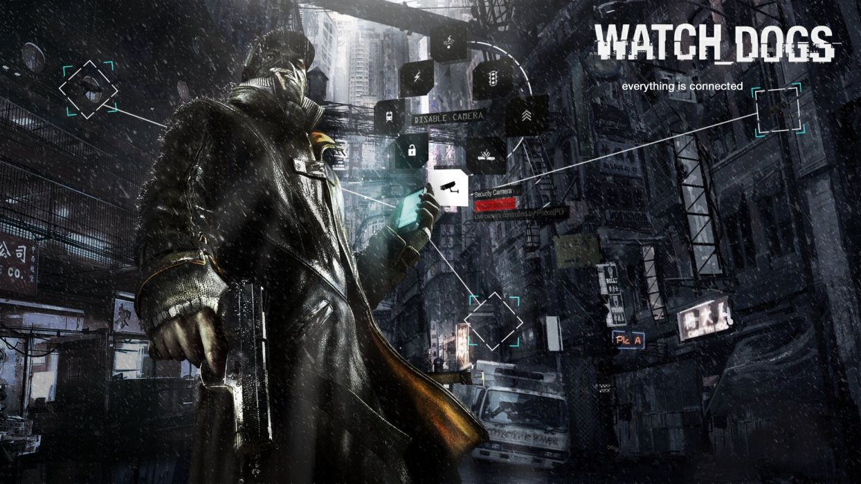 watch dogs wallpaper by spectresinistre-d5x7x0b wallpaper
