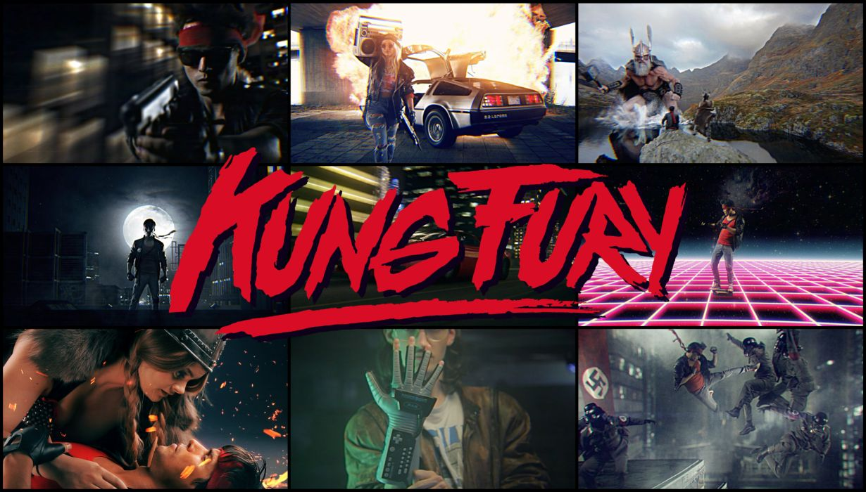 KUNG FURY action comedy martial arts fighting crime wallpaper