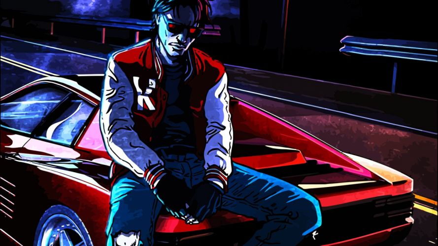 kavinsky out run wallpaper by professoradagio-d7othr9 wallpaper