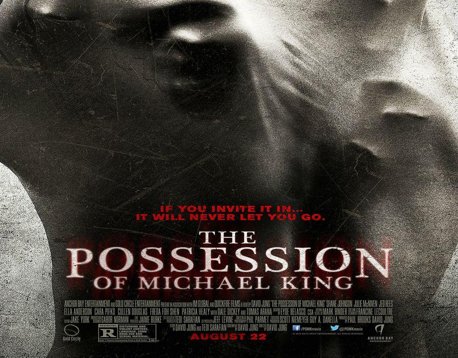 POSSESSION OF MICHAEL KING horror dark demon evil satanic wallpaper