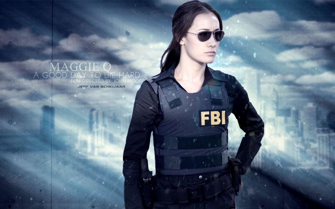 DIE HARD action crime thriller wallpaper
