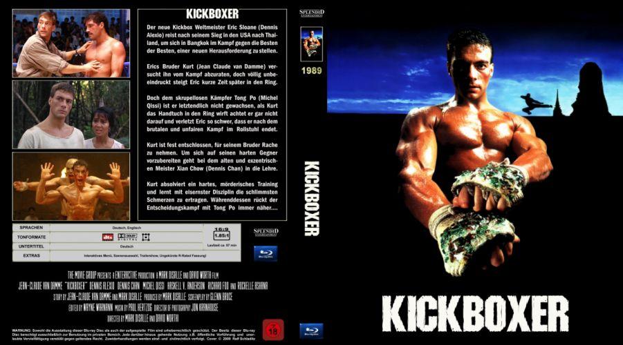 KICKBOXER martial arts action sports thriller fighting wallpaper
