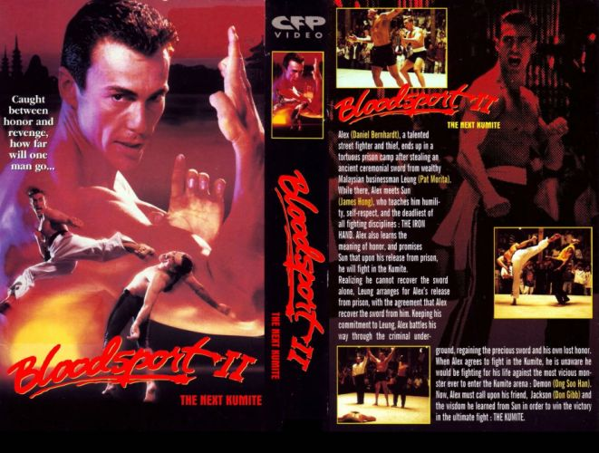 BLOODSPORT martial arts fighting action biography drama wallpaper