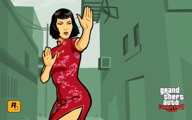GTA Grand Theft Auto Chinatown Wars wallpaper
