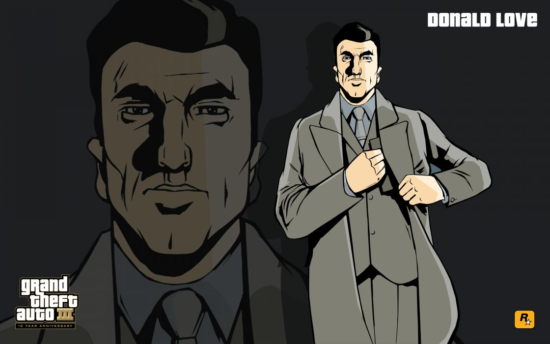 GTA Grand Theft Auto III Donald Love wallpaper