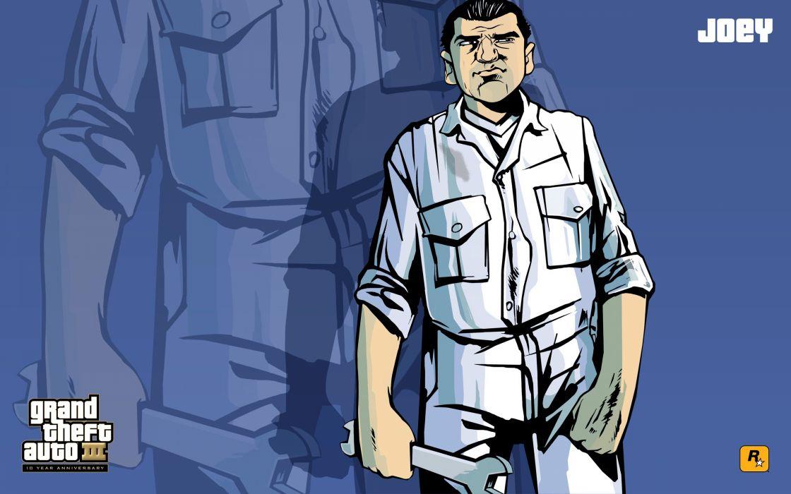 GTA Grand Theft Auto III Joey wallpaper