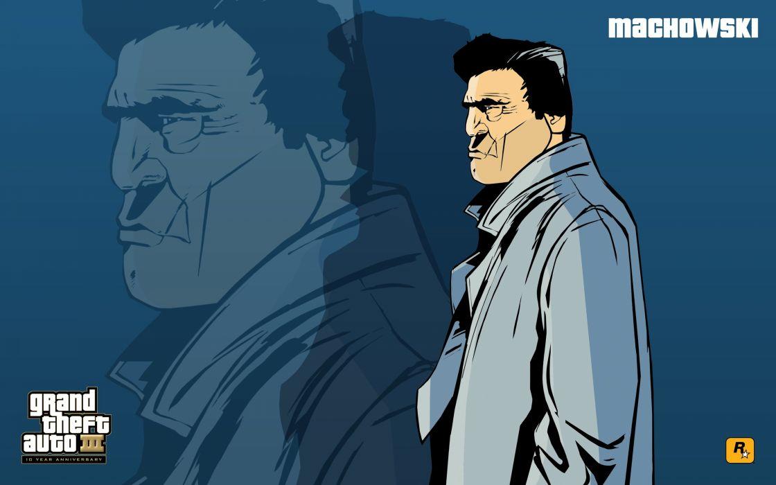GTA Grand Theft Auto III Machowski wallpaper