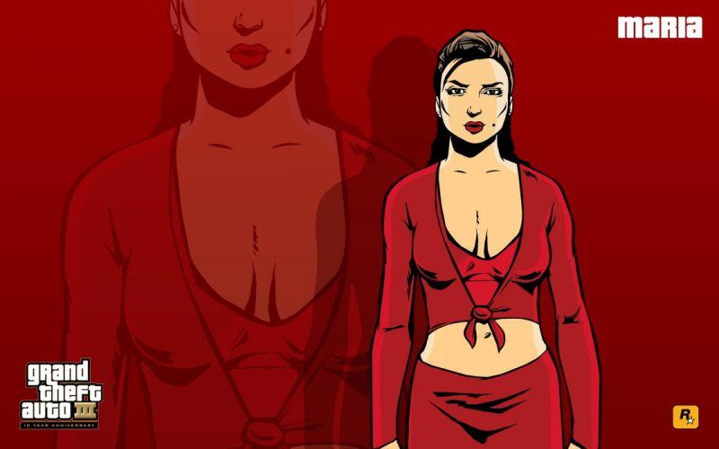 GTA Grand Theft Auto III Maria wallpaper