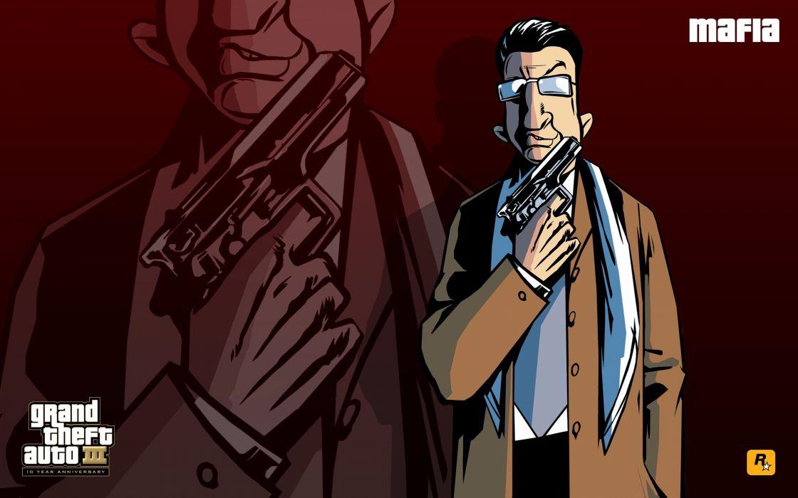 GTA Grand Theft Auto III Mafia wallpaper