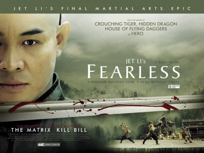 FEARLESS martial arts action fighting biography drama wallpaper