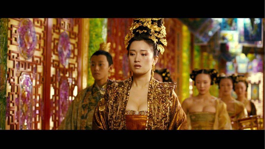 CURSE OF THE GOLDEN FLOWER action drama romance martial arts wallpaper