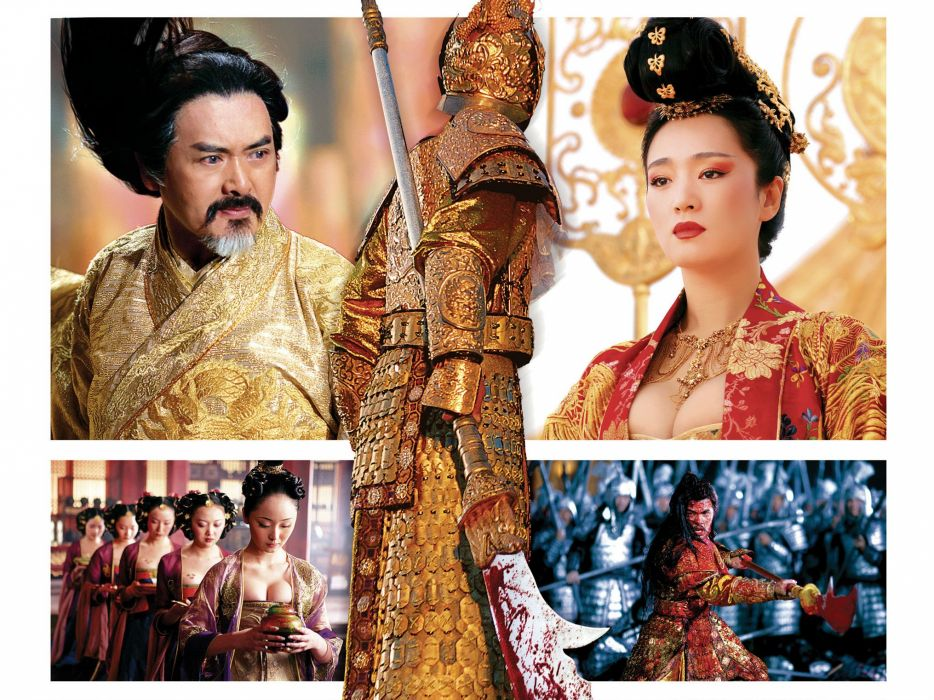 CURSE OF THE GOLDEN FLOWER action drama romance martial arts wallpaper