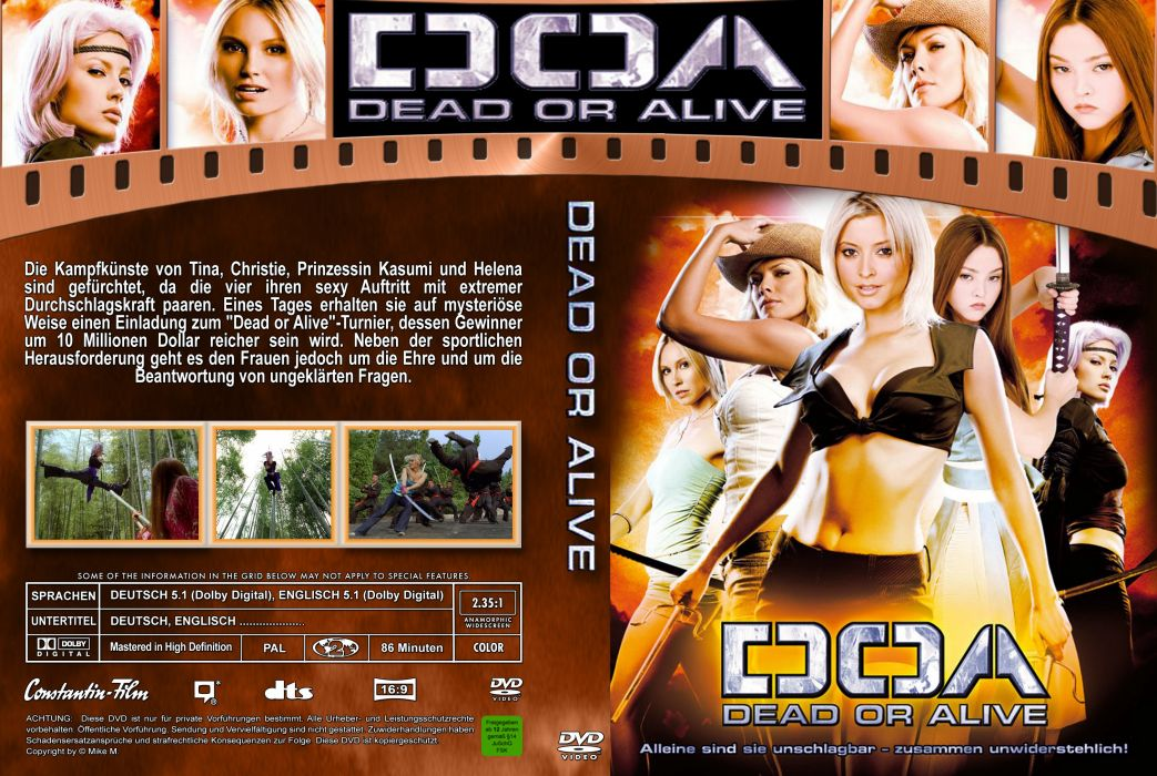 Doa Dead Or Alive Action Adventure Martial Arts Fighting Sexy Babe