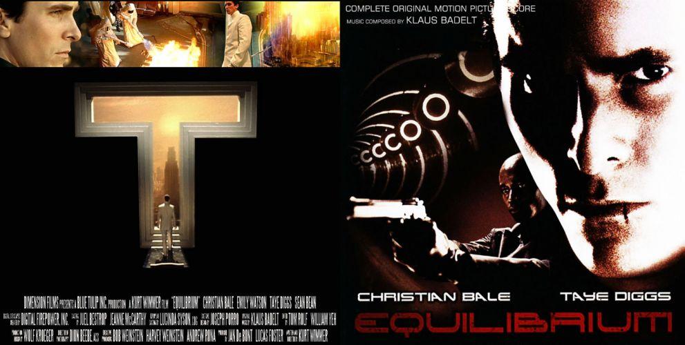 EQUILIBRIUM action drama sci-fi science wallpaper
