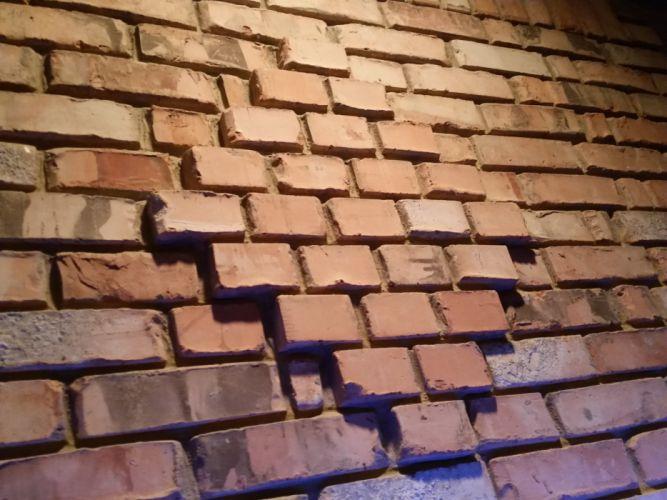 Brick fire place wallpaper