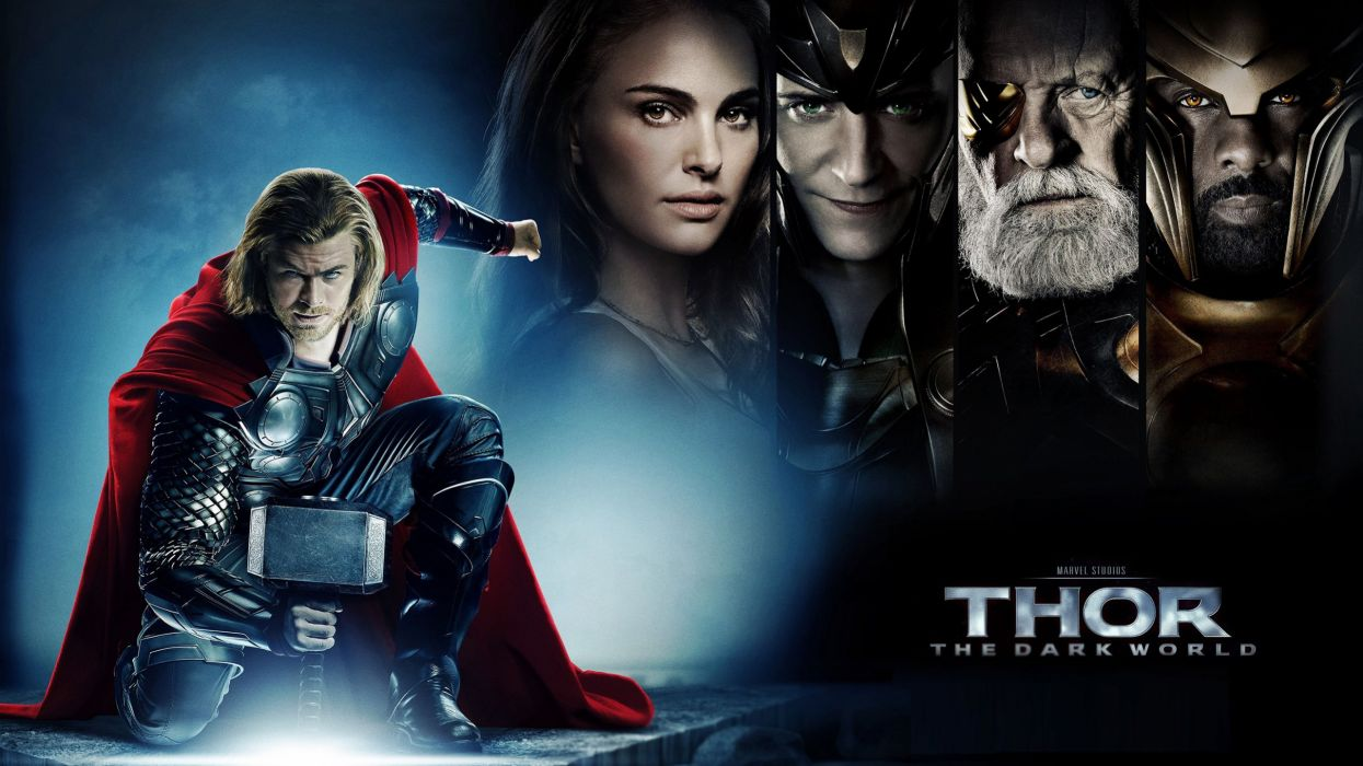 THOR DARK WORLD marvel superhero action adventure wallpaper