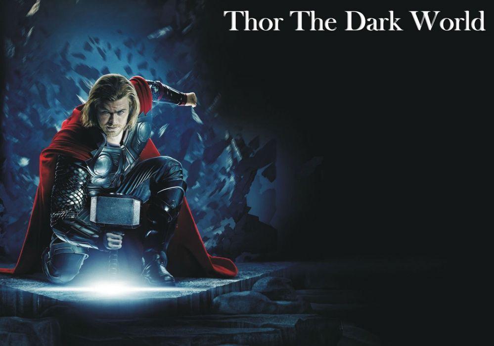 THOR DARK WORLD marvel superhero action adventure wallpaper
