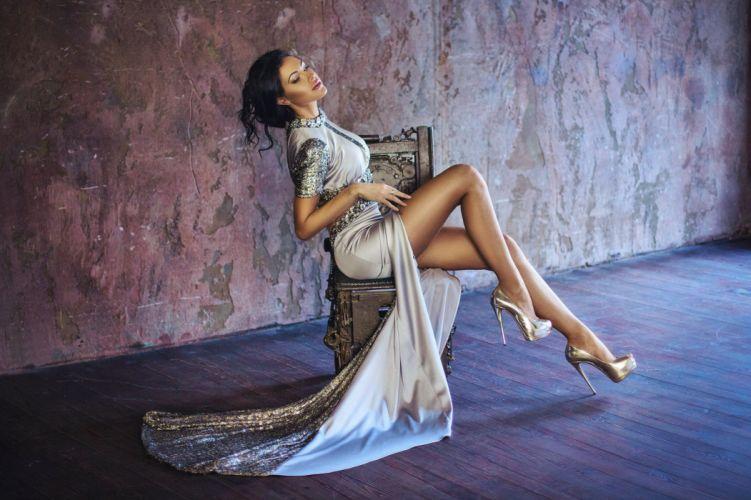 sensual femininity model seduction beauty wallpaper