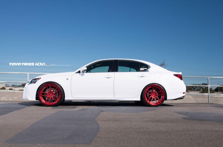 2014 ADV1 wheels LEXUS GS350-F SPORT cars wallpaper