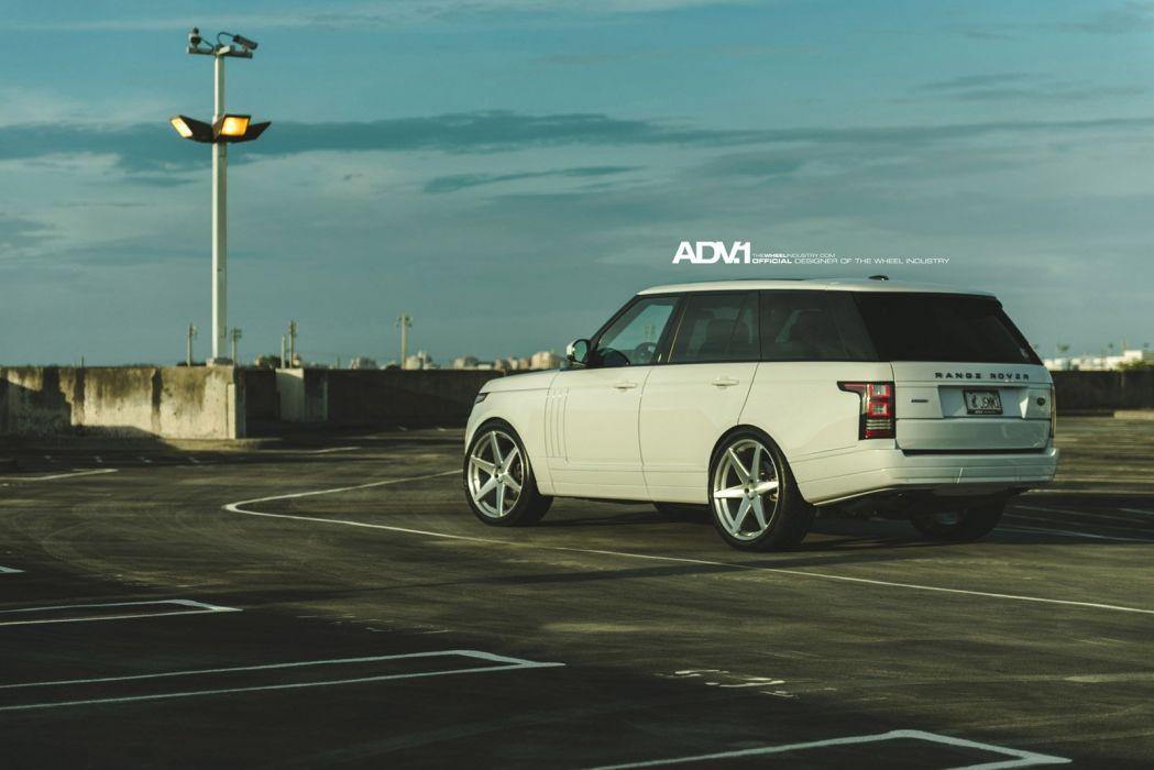 2014 ADV1 wheels RANGE ROVER HSE suv cars wallpaper