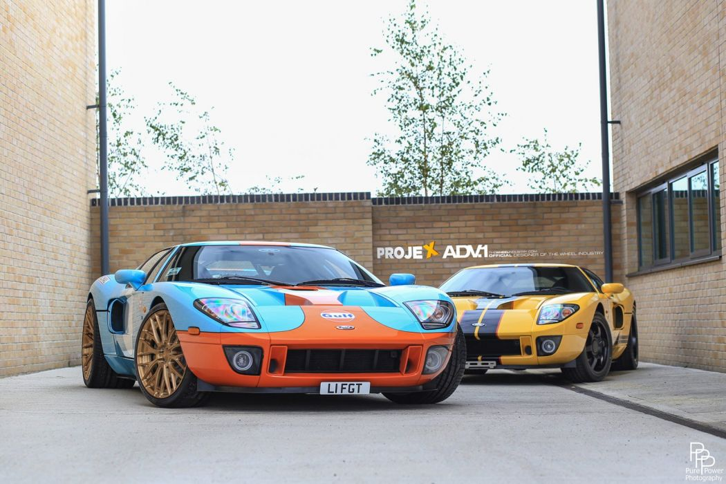 2014 ADV1 wheels FORD-GT supercars wallpaper