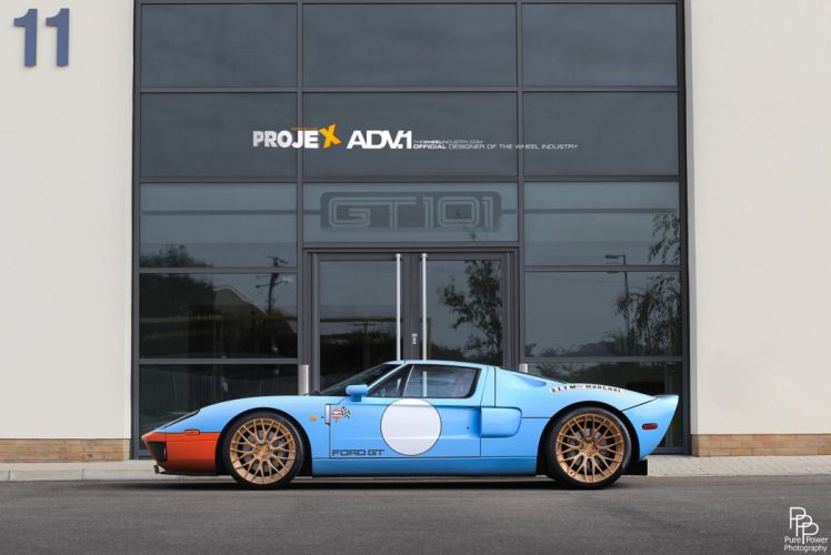 2014 ADV1 wheels FORD-GT supercars wallpaper