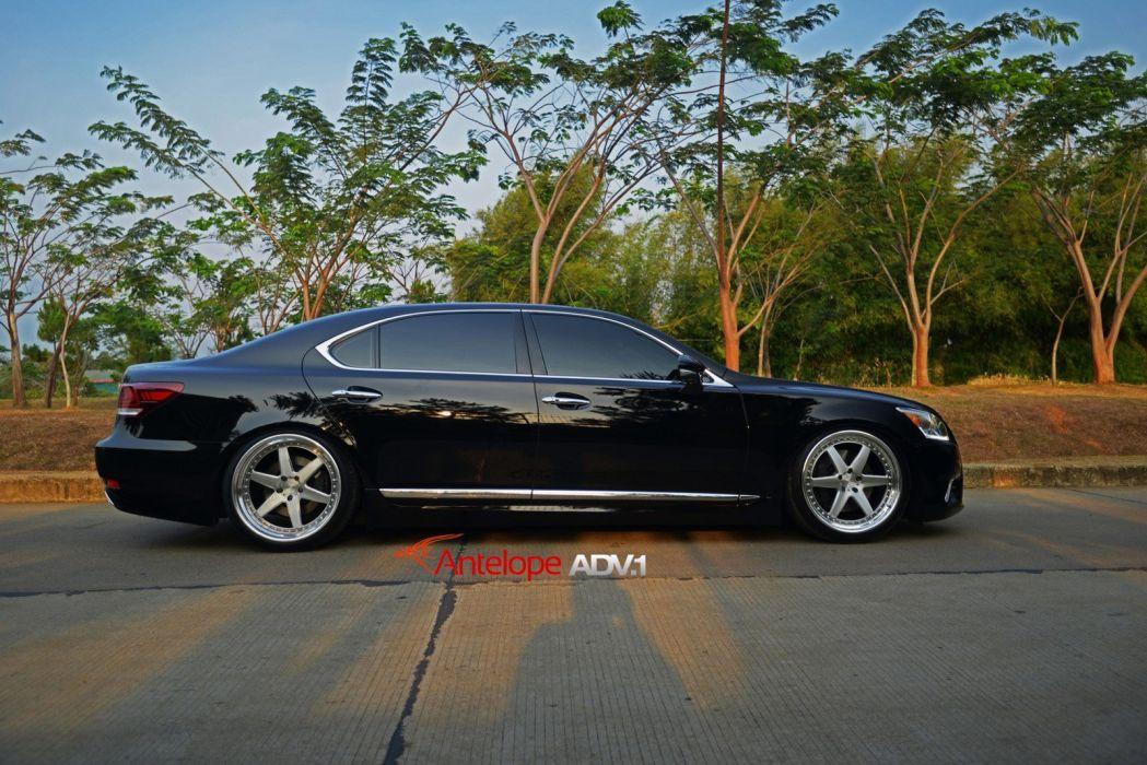 2014 ADV1 wheels LEXUS LS-460-L cars wallpaper