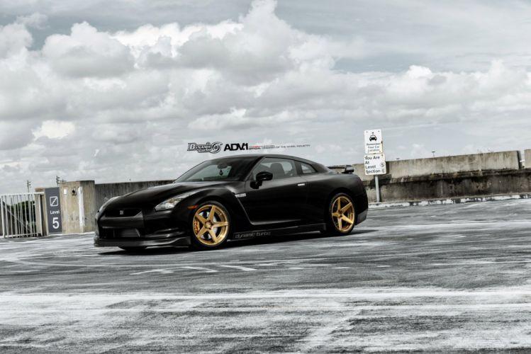 2014 ADV1 wheels nissan-gtr supercars wallpaper