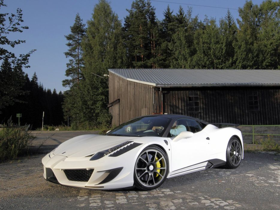 mansory Ferrari Siracusa-II tuning supercars wallpaper