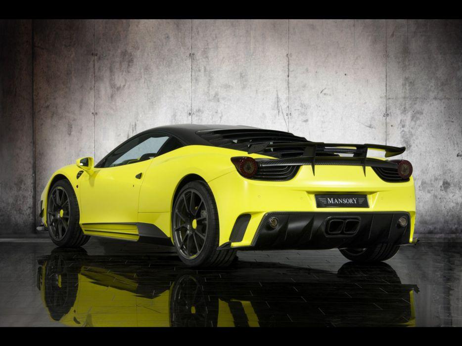 mansory Ferrari Siracusa tuning supercars wallpaper