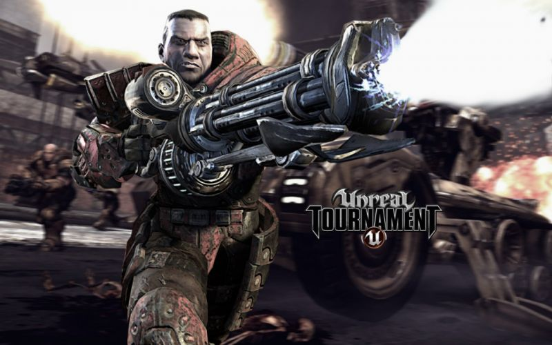 UNREAL TOURNAMENT shooter action fighting fantasy sci-fi wallpaper