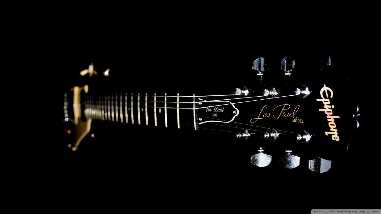 Epihone Electric Guitar Wallpaper 1920x1080