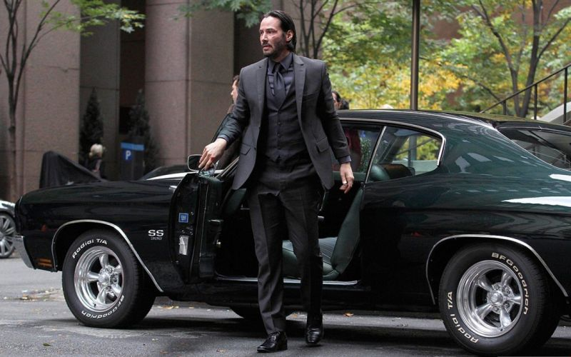 JOHN WICK action thriller hitman assassin john-wick reeves keanu wallpaper