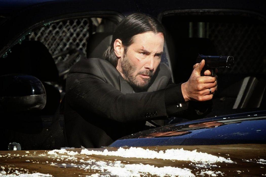 JOHN WICK action thriller hitman assassin john-wick reeves keanu wallpaper
