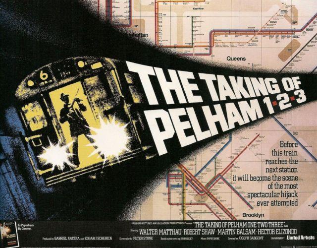 TAKING OF PELHAM 123 action crime thriller wallpaper