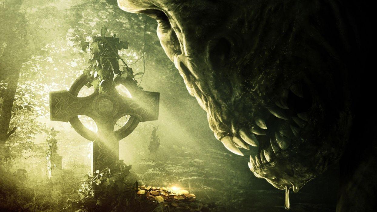 LEPRECHAUN ORIGINS Horror Fantasy Dark Wallpaper