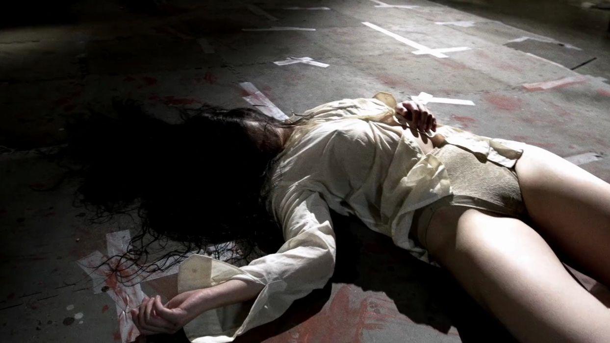 GUN WOMAN action thriller sexy babe assassin fighting dark blood wallpaper