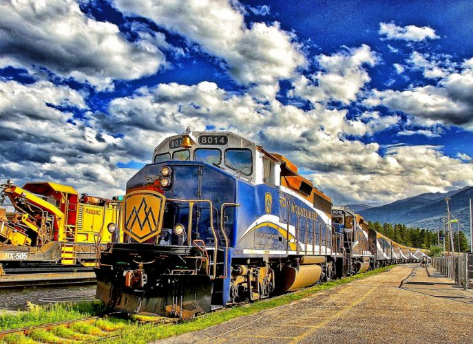 trains locomotives wallpaper rail transport fret wallpaper