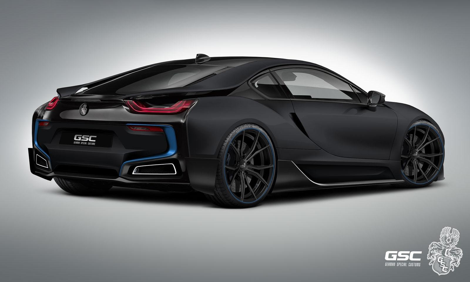 german special customs bmw i8 itron tuning electric coupe. Black Bedroom Furniture Sets. Home Design Ideas
