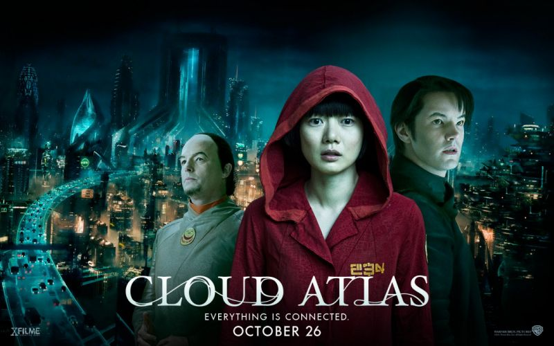 CLOUD ATLAS drama sci-fi adventure fantasy wallpaper