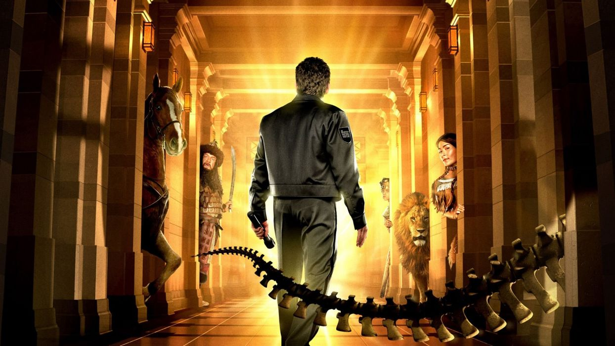 NIGHT AT THE MUSEUM action adventure comedy fantasy wallpaper