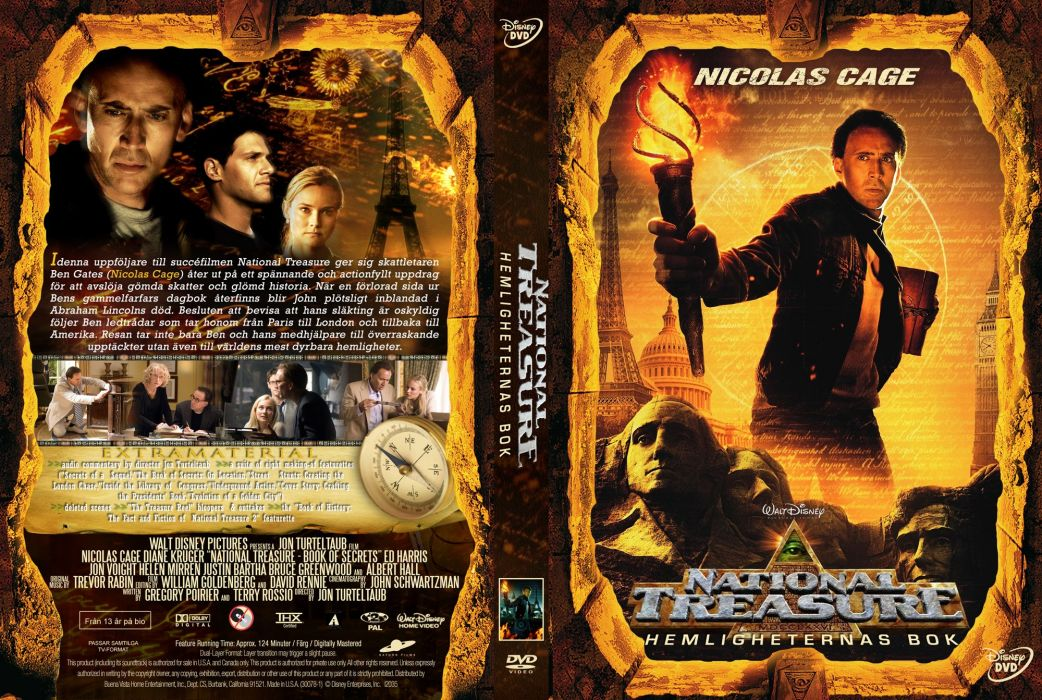 NATIONAL TREASURE disney action adventure mystery wallpaper