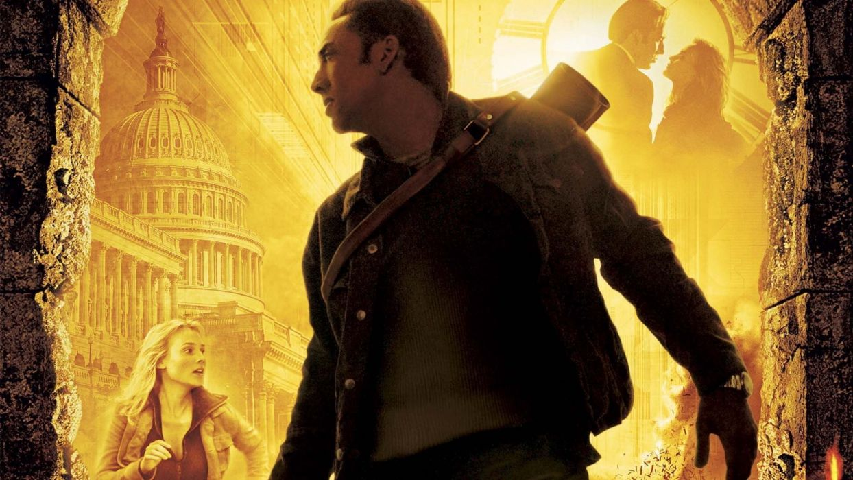 NATIONAL TREASURE disney action adventure mystery wallpaper