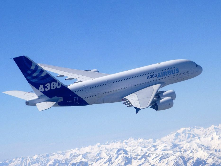 a380 aicrafts airbus airports jet sky transports wallpaper