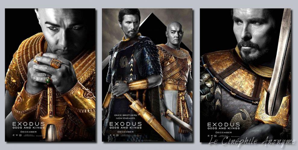 EXODUS GODS AND KINGS religion christian drama bale wallpaper