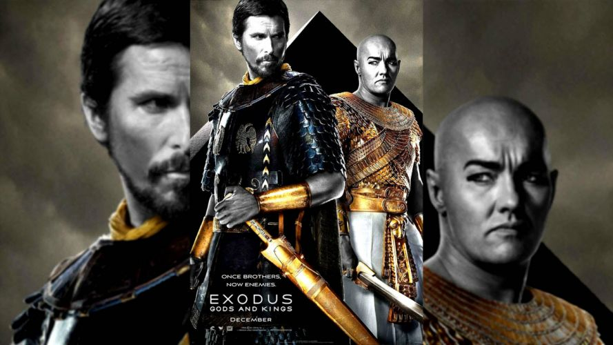 EXODUS GODS AND KINGS religion christian drama bale wallpaper