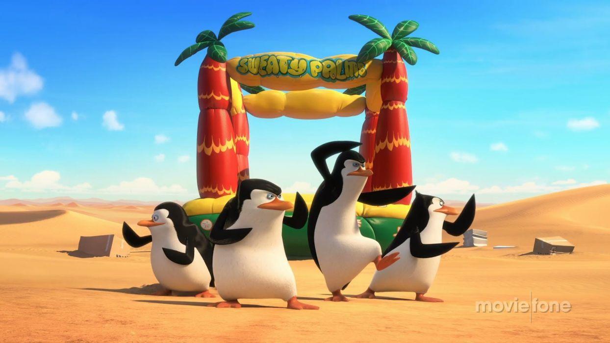 PENGUINS OF MADAGASCAR animation comedy adventure family penguin cartoon wallpaper